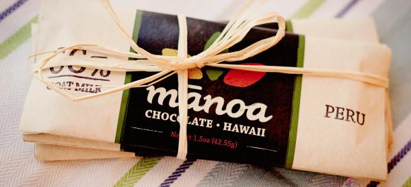 Bars from a boutique chocolate company, Manoa Chocolate. © 2012 Sugar + Shake