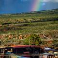 Rainbow over West Maui, taken during #KFRESH13 weekend. © 2013 Sugar + Shake