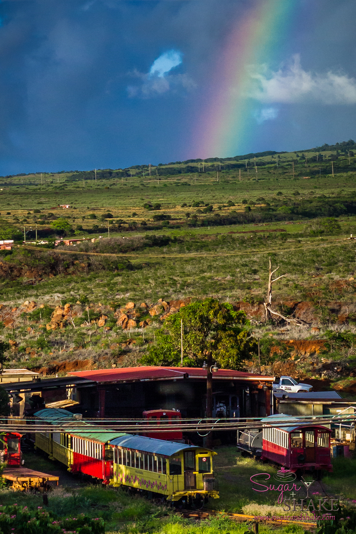Rainbow over West Maui, taken during #KFRESH13 weekend. © 2013 Sugar + Shake