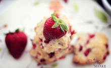 Strawberry Shortcake Cookies. © Sugar + Shake