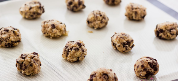 "Sugar's ""Smoking Jacket Cookies"" (Dark Chocolate & Cheesecake Chunk Smoked Tea Shortcake Cookies). © 2013 Sugar + Shake"