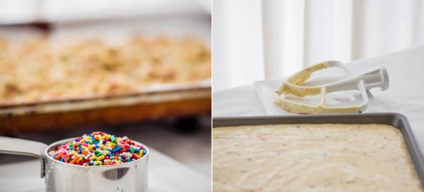 Sneak Peek: Rainbow Sprinkles + Cake Batter = Momofuku Milk Bar Birthday Cake. © 2013 Sugar + Shake