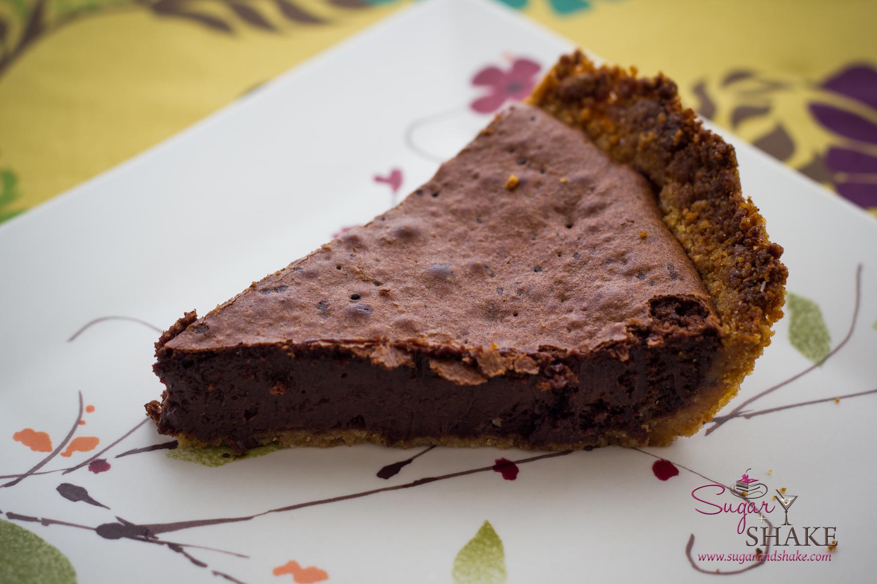Momofuku Milk Bar Brownie Pie. © 2013 Sugar + Shake