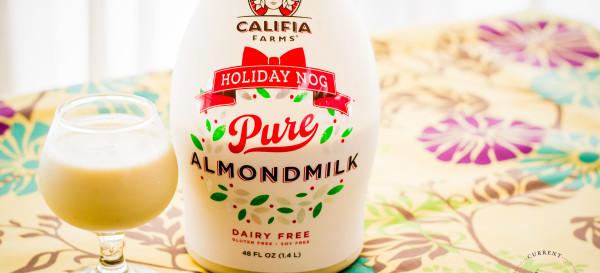 CURRENT OBSESSION: Califia Farms Holiday Nog Almond Milk © 2013 Sugar + Shake