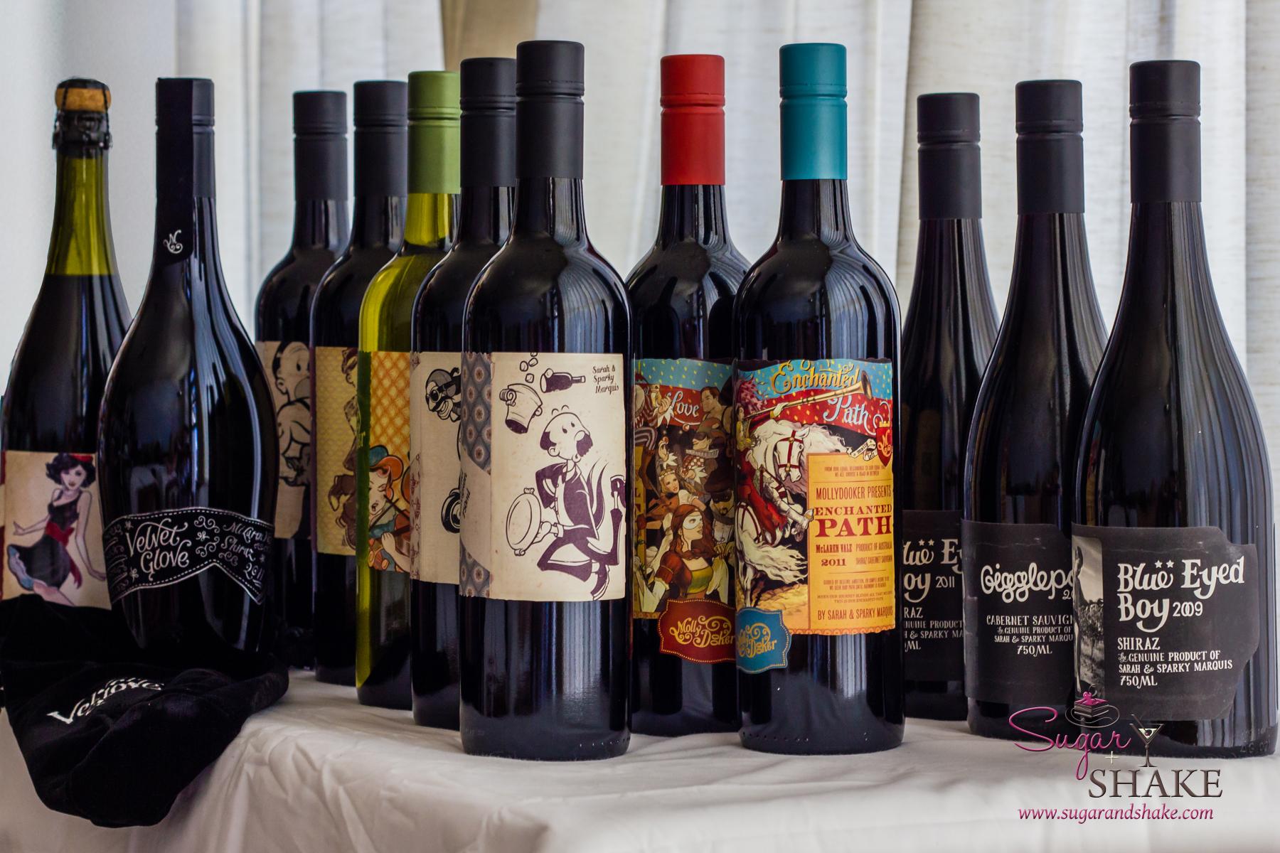 Molly Dooker Wines' Winemaker's Dozen. © 2014 Sugar + Shake