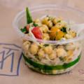 Deli pasta and chickpea salad at The Market by Capische. © 2014 Sugar + Shake