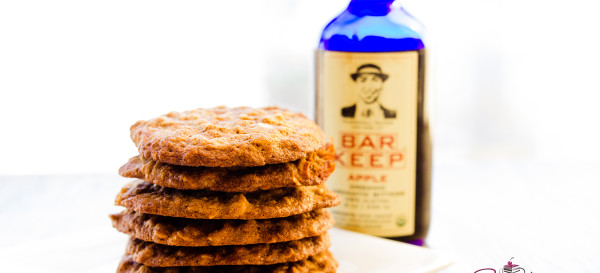 Experimental Cookies, Round One, Part One: Oatmeal Apple Bitters. © 2014 Sugar + Shake