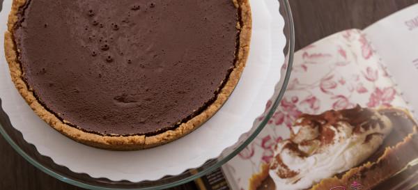 Baked NYC's Chocolate Whiskey Tart. © 2015 Sugar + Shake