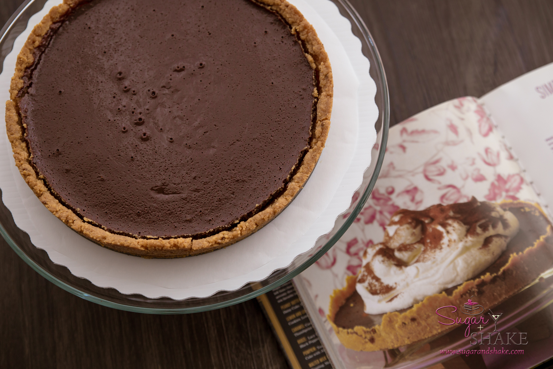 Baked NYC's Chocolate Whiskey Tart. © 2015 Sugar + Shake