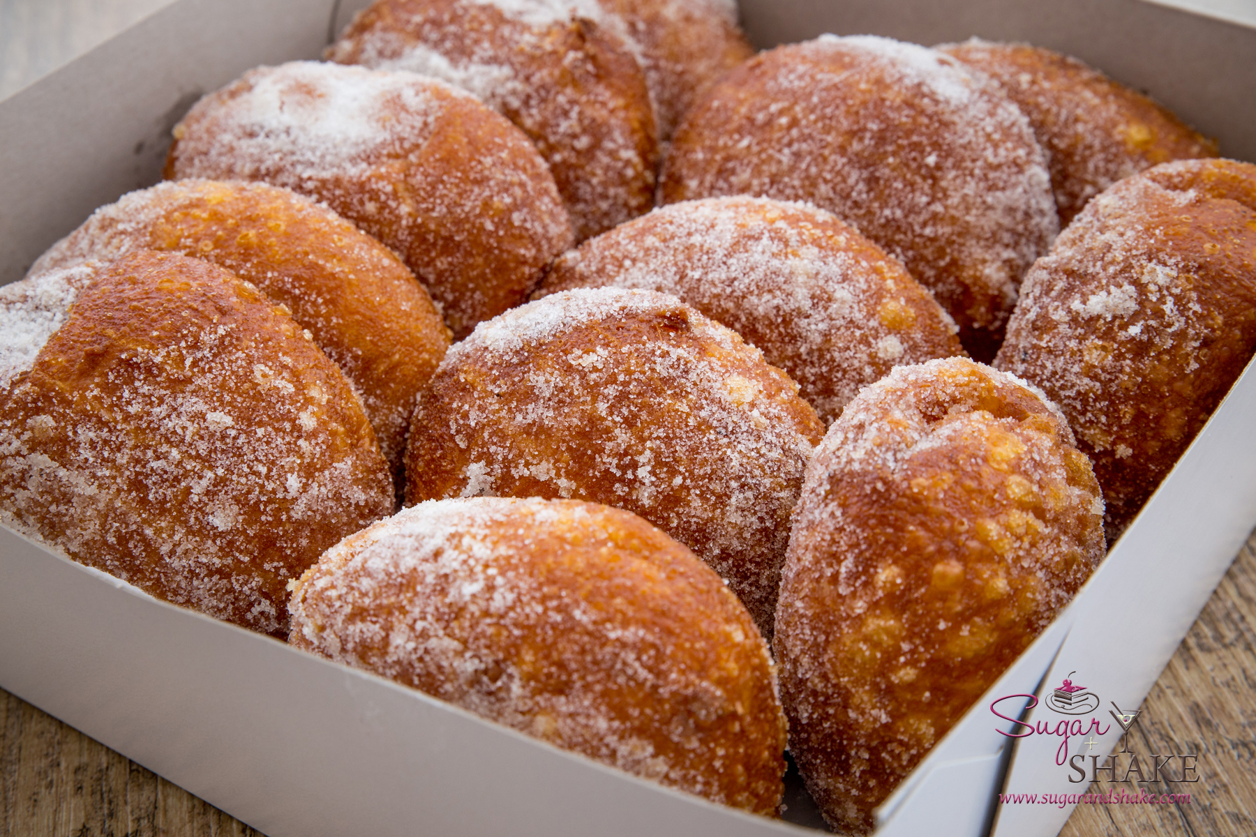 Malasadas from Champion Malasadas: hot, sugary, pillowy and delicious. © 2015 Sugar + Shake