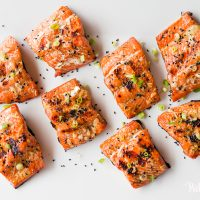Soy Ginger Salmon © 2020 Put It On My Plate / Sugar + Shake