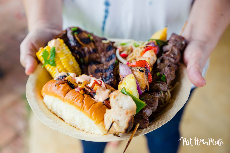 'Ohana Grill Cookbook Plate Lunch © 2020 Put It On My Plate / Sugar + Shake