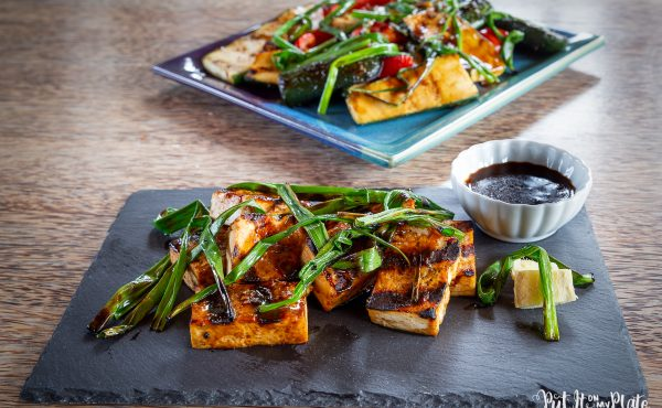 Grilled Tofu and Veggies from The 'Ohana Grill Cookbook